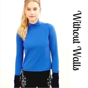 OU Without Walls Long Sleeve Crop Top Size S